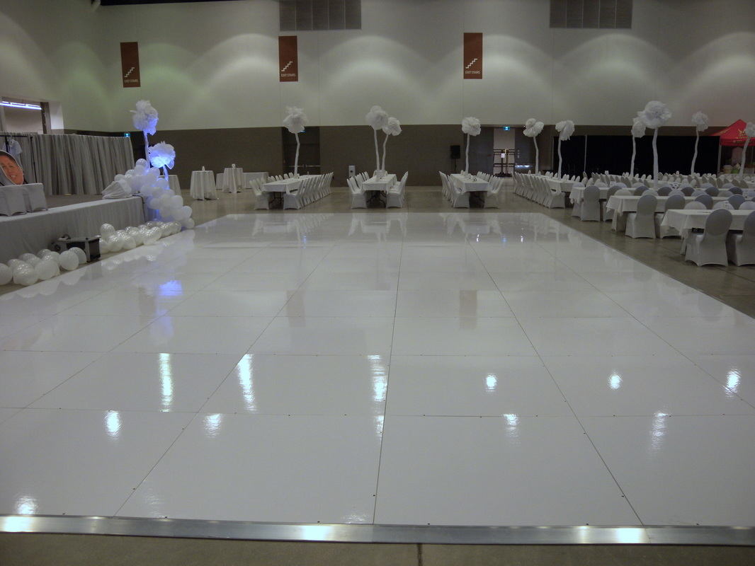 White Dance Floor Rental Winnipeg Spark Rentals Inc