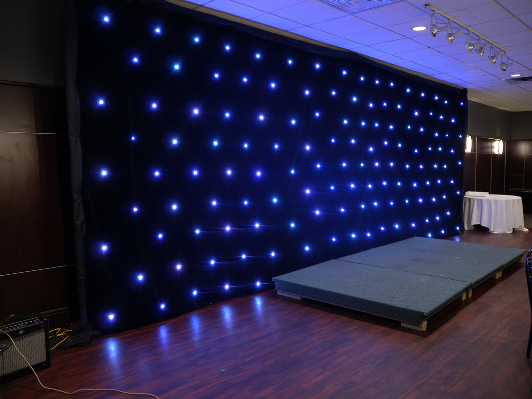 Galaxy Led Backdrop Rental Winnipeg Spark Rentals Inc